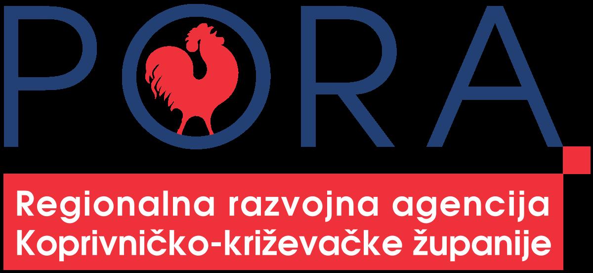 Logo PORA Regionlana razvojna agencija Koprivničko-križevačke županije