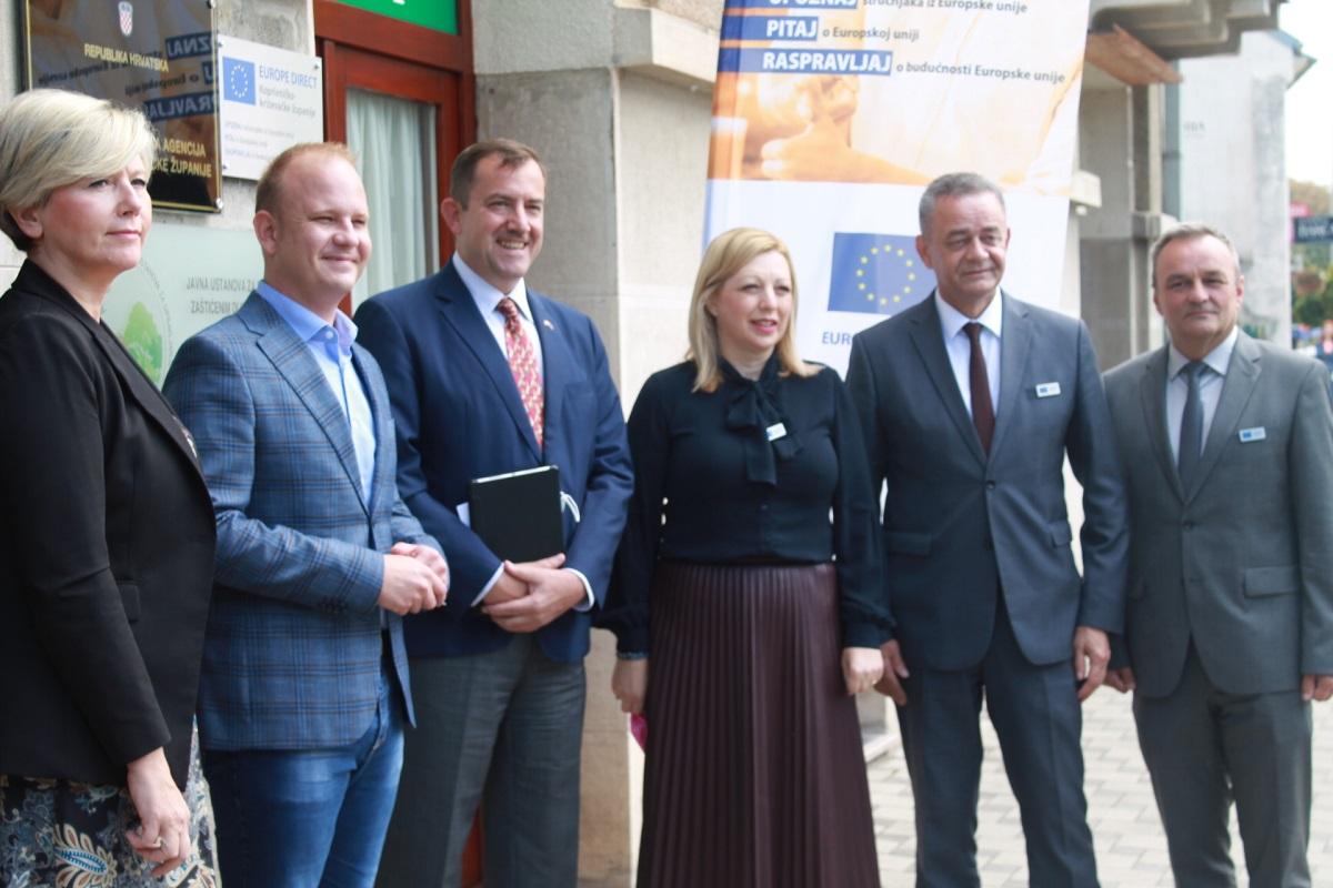 Svečano predstavljen Europe Direct centar u Koprivničko-križevačkoj županiji
